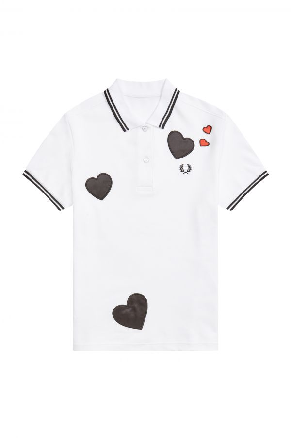 Heart Detail Polo Shirt