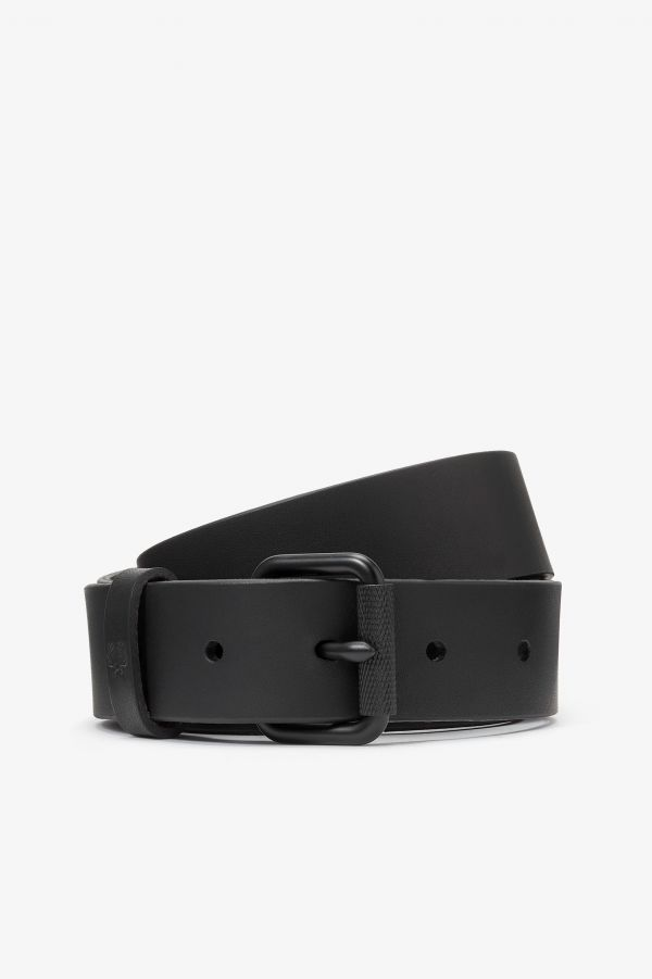 Made in England Slim Leather Belt