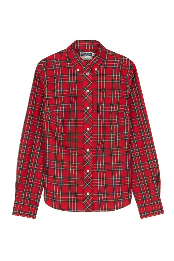 Camicia Button-Down Reissues In Tartan
