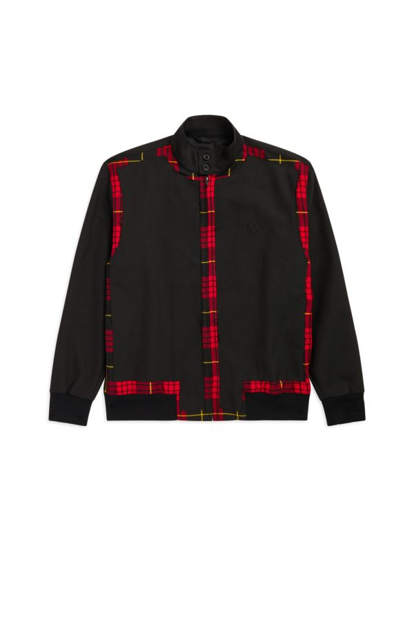 Laurel Wreath Giacca Harrington Con Bordi Sfrangiati