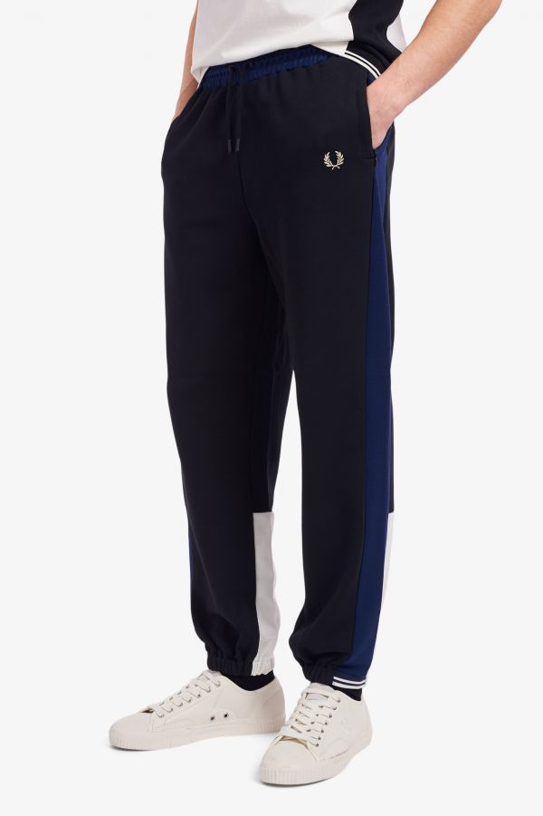 Tricot Panel Sweat Pants