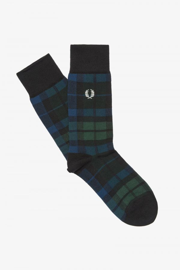 Black Watch Tartan Socks