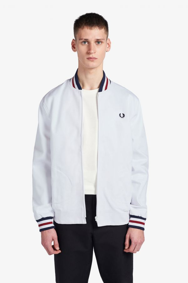 Made In England Tennis-Bomberjacke