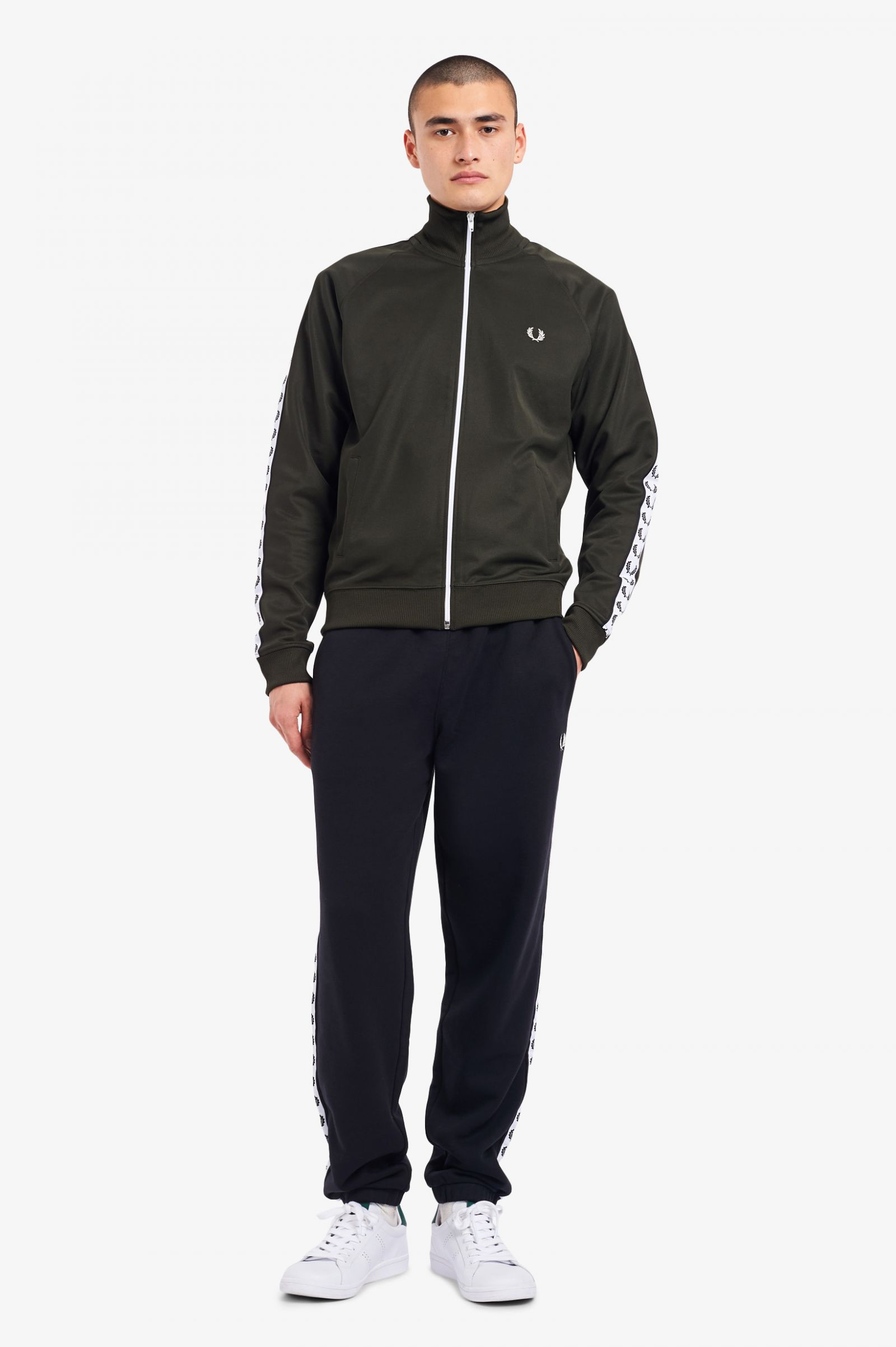 Giacca Sportiva Fred Perry Taped Track Jacket