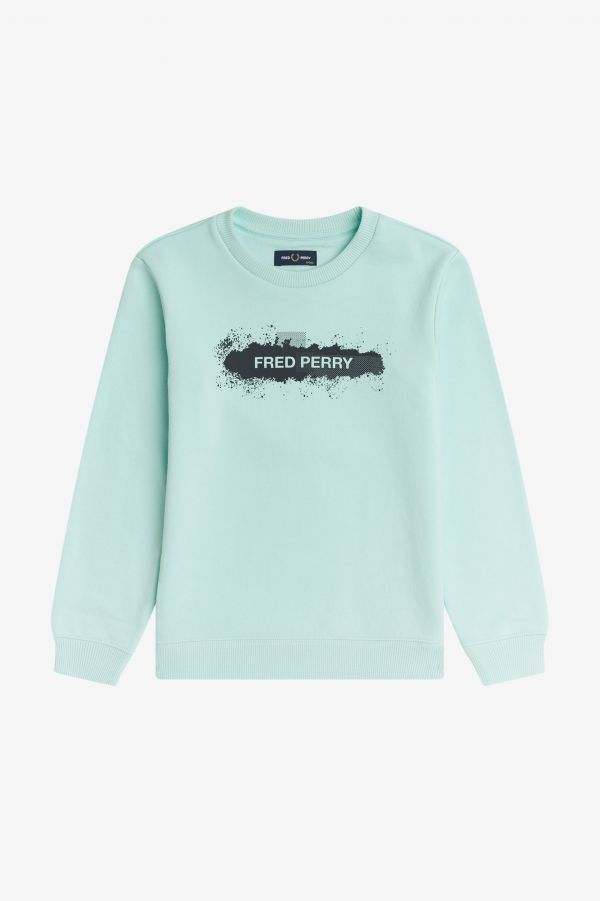 Spray Graphic Sweatshirt
