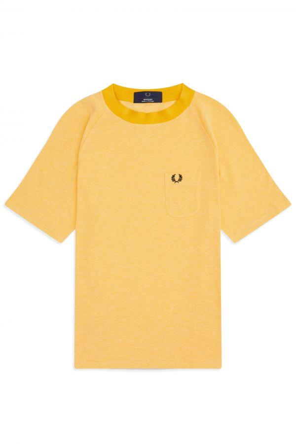 Reissues T-Shirt En Piqué Bicolore