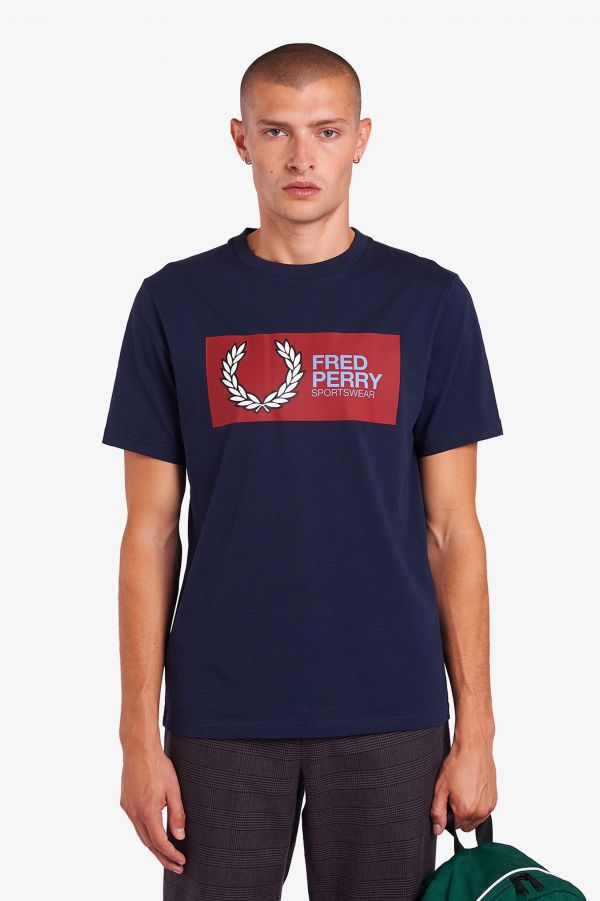 """Fred Perry Sportswear"" T-Shirt"