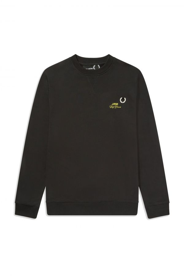 Raf Simons Laurel Wreath Sweatshirt mit Details
