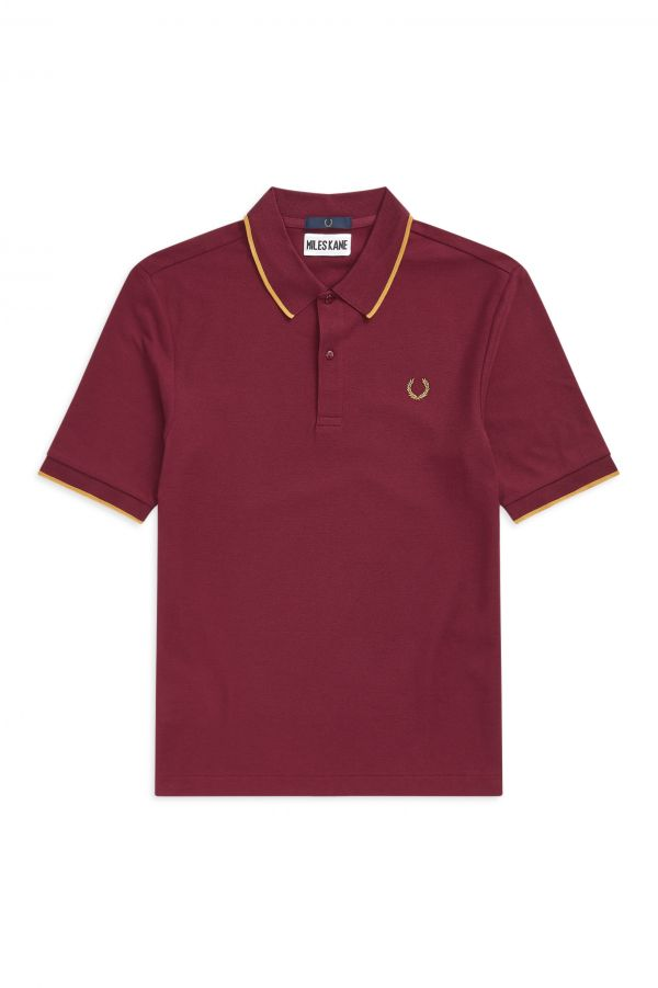 Miles Kane Fine Tipped Polo Shirt
