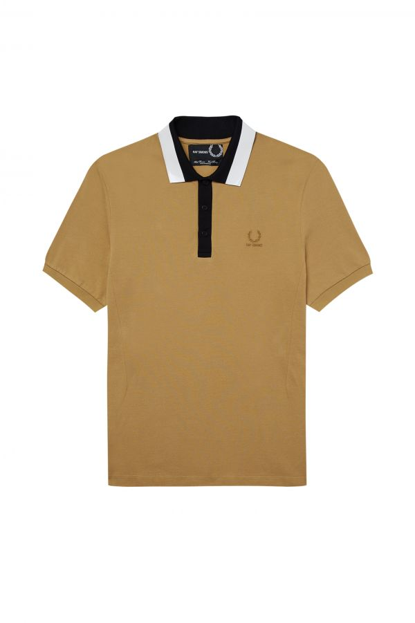 Taped Collar Polo Shirt