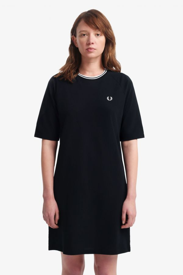 Twin Tipped Pique T-Shirt Dress