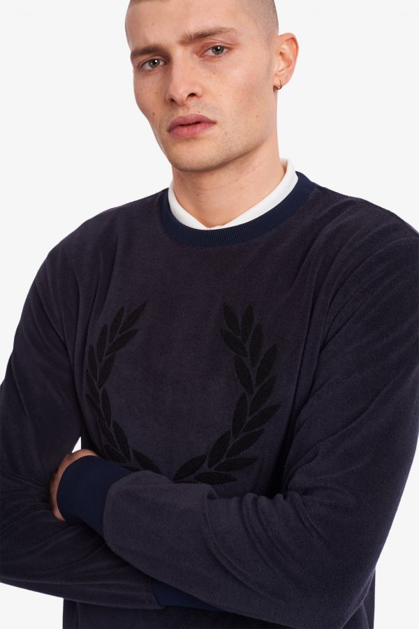 Towelling Sweatshirt