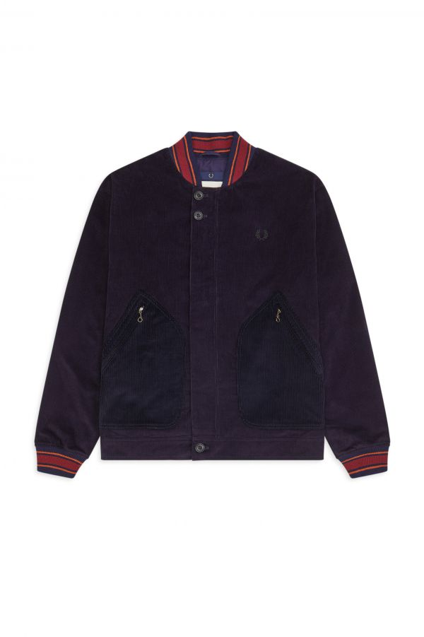 Nicholas Daley Made in England Corduroy Bomber Jacket