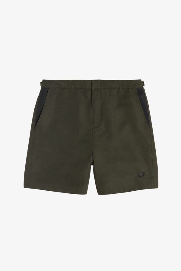 Contrast Panel Swimshorts