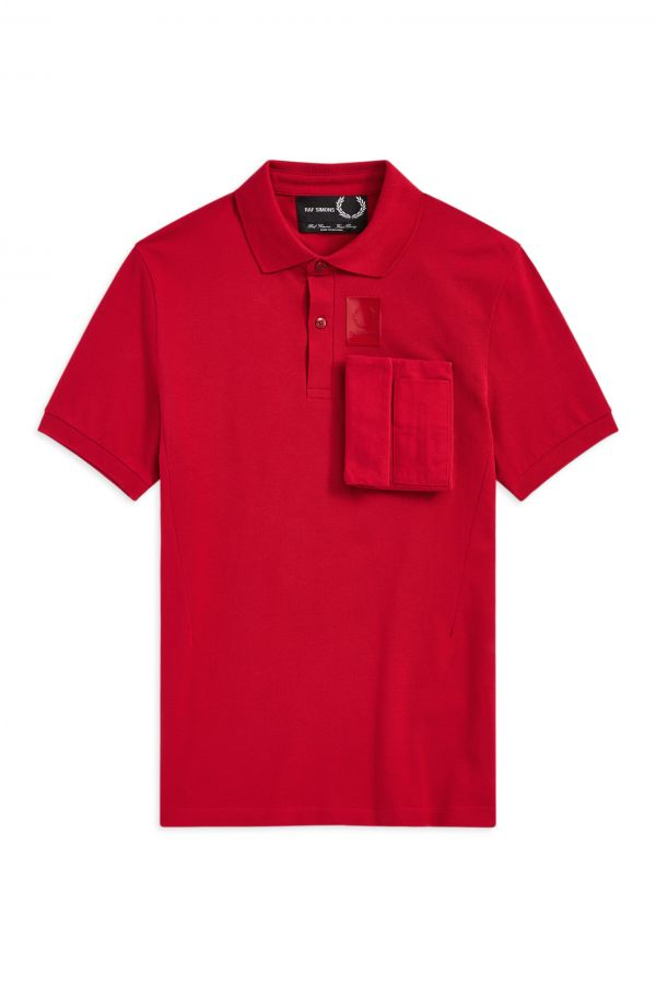 Raf Simons Space Pocket Polo Shirt