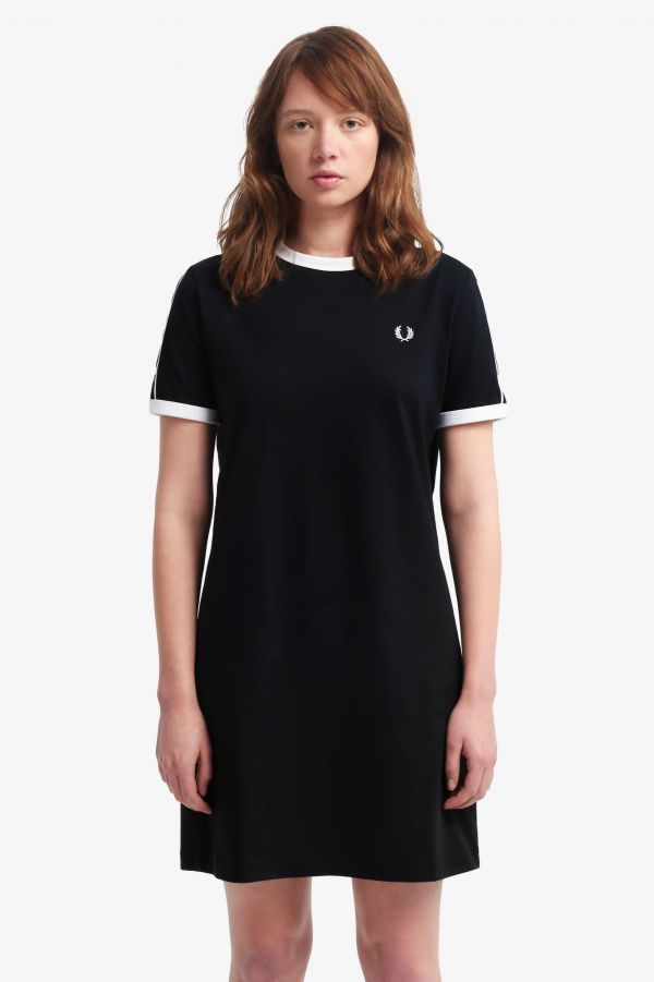 Taped Ringer T-Shirt Dress
