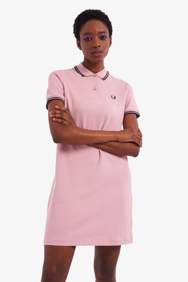 Robe polo Fred Perry à double liseré