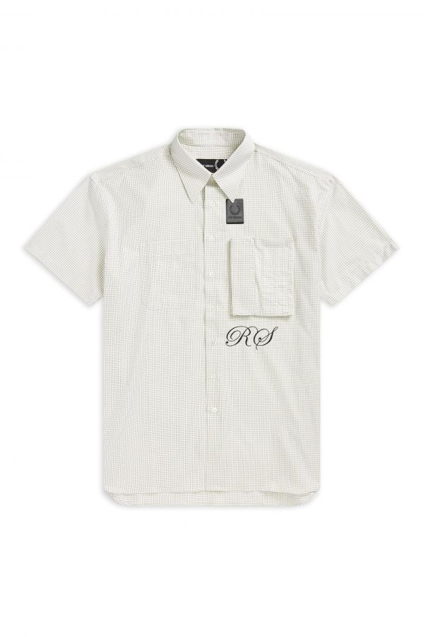 Raf Simons Space Pocket Check Shirt