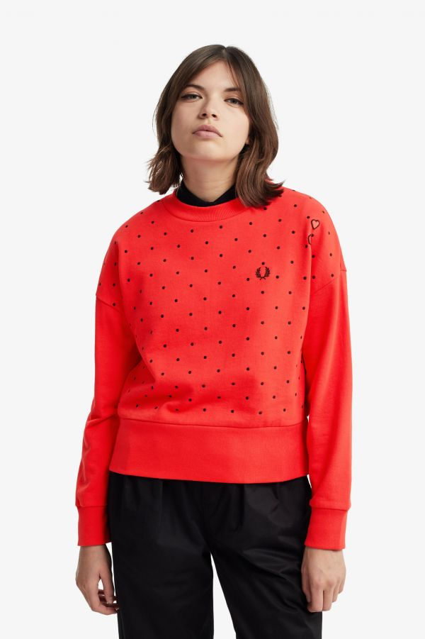 Amy Winehouse Polkadot Sweatshirt