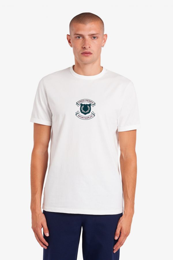 Embroidered Sheild T-Shirt