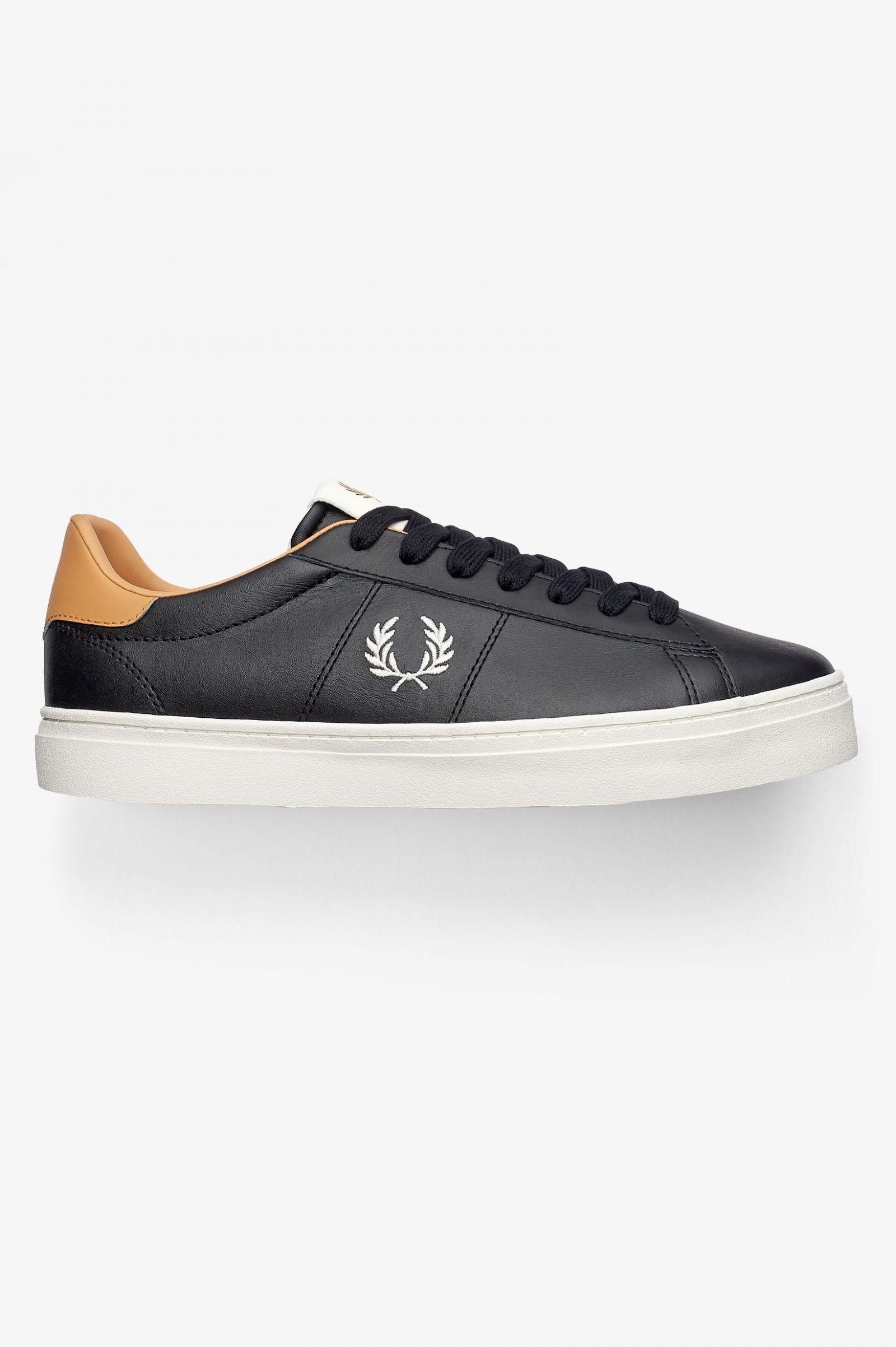 Spencer Vulcanised Leather - Black