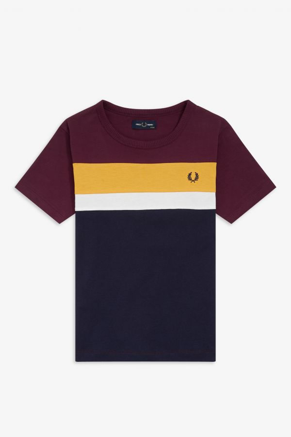 Kids Colour Block T-Shirt