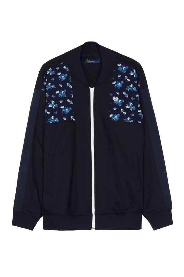 Track Jacket Con Stampa Liberty