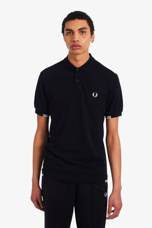 Twin Tipped Panel Polo Shirt