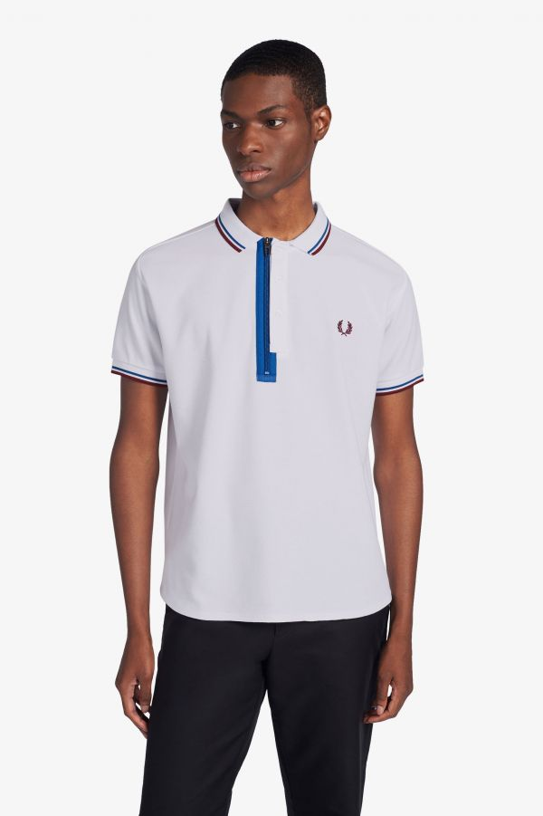 Narifuri Placket Detail Quick Drying Polo Shirt