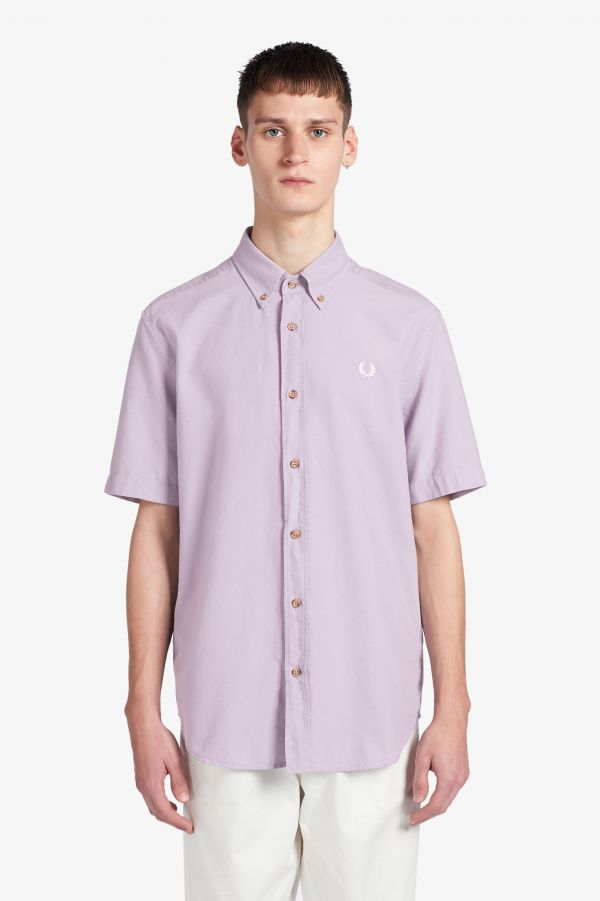 Overdyed Short Sleeve Shirt