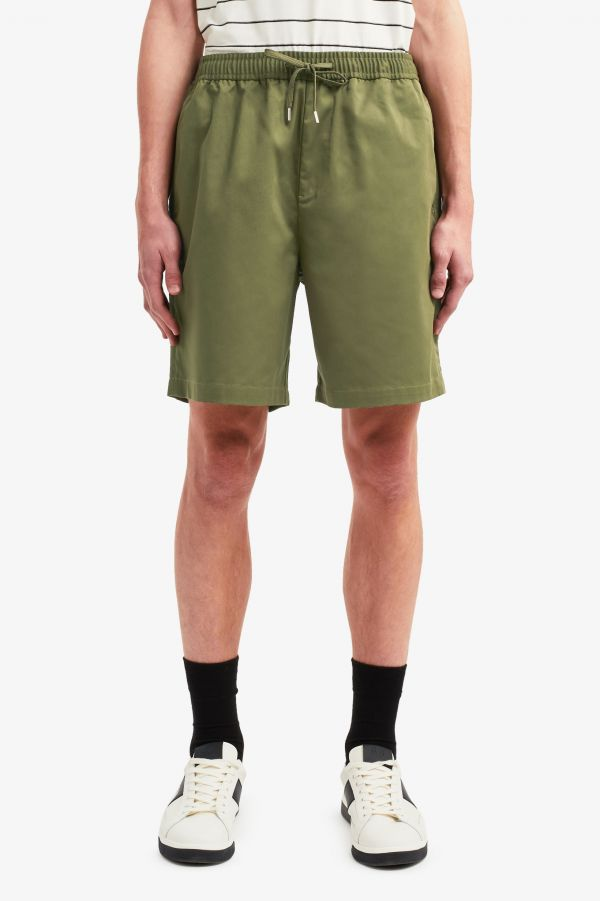 Shorts In Twill Con Coulisse
