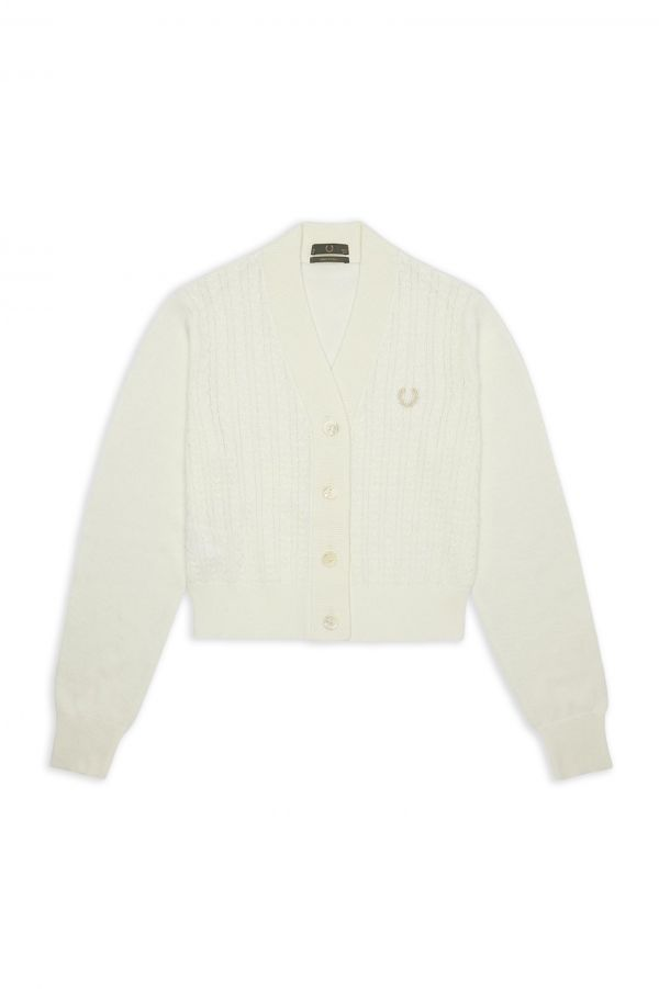 Knitted Tennis Cardigan