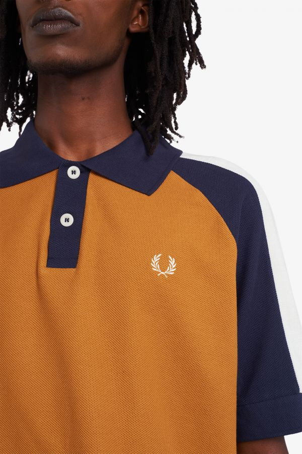 Nicholas Daley Colourblock Polo Shirt