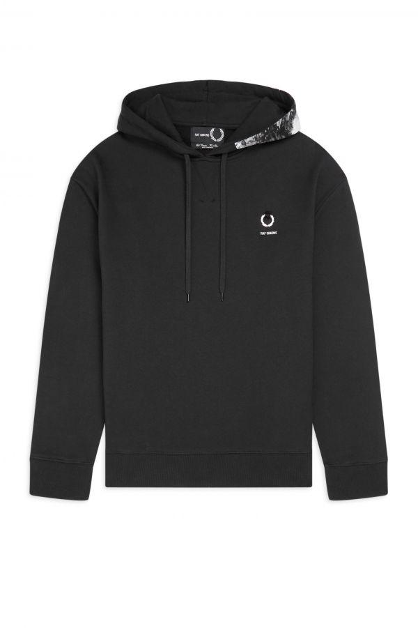 Raf Simons Printed Hood Sweatshirt