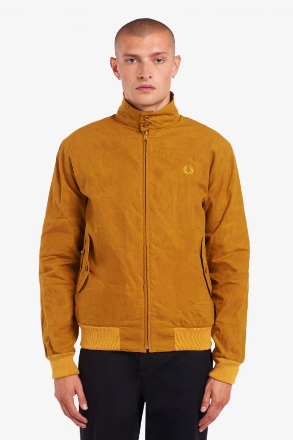 Blouson Harrington ciré Made in England