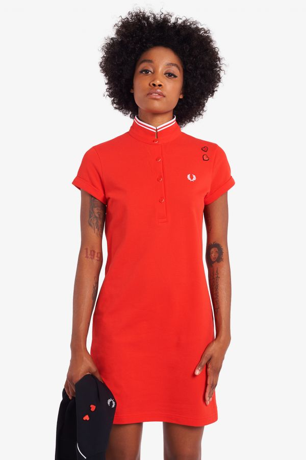 Vestito Fred Perry Shirt Amy