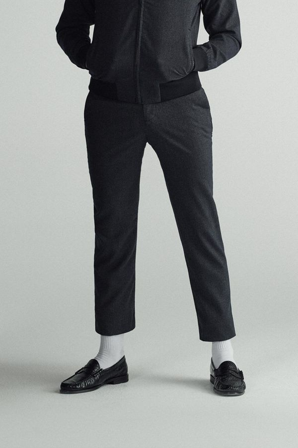 Miles Kane Houndstooth Tailored Trouser