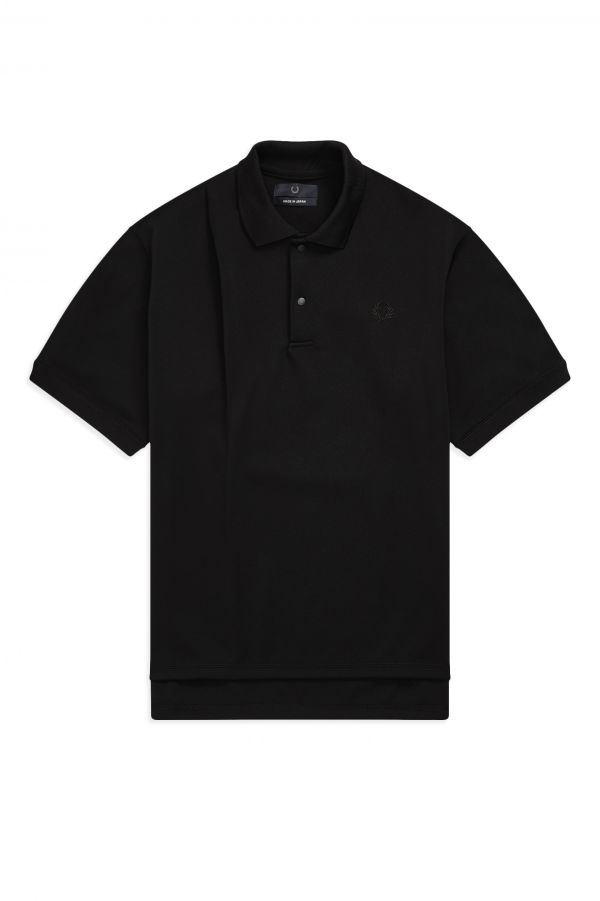 Laurel Wreath Poloshirt mit Abnäher, Made in Japan