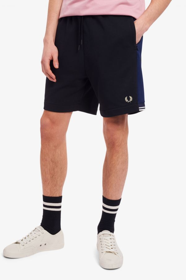 Tricot Panel Shorts