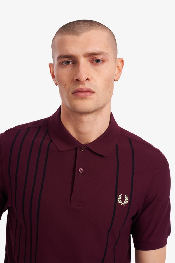 Refined Stripe Polo Shirt