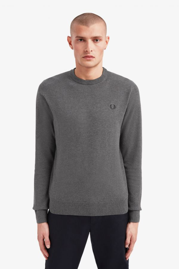Classic Cotton Crew Neck Jumper