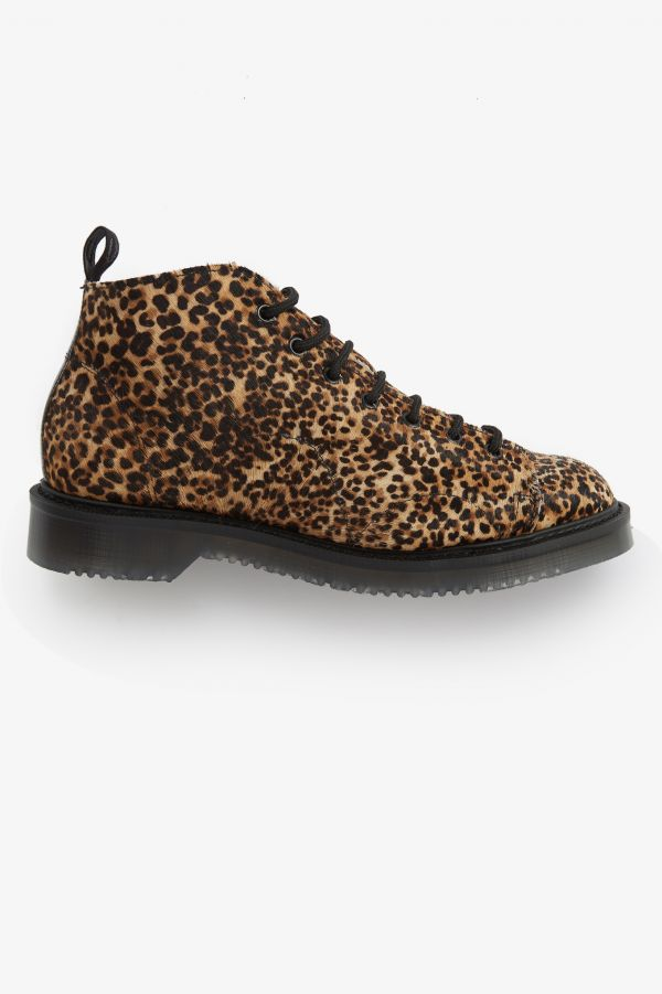 Monkey Boot Con Stampa Leopardata
