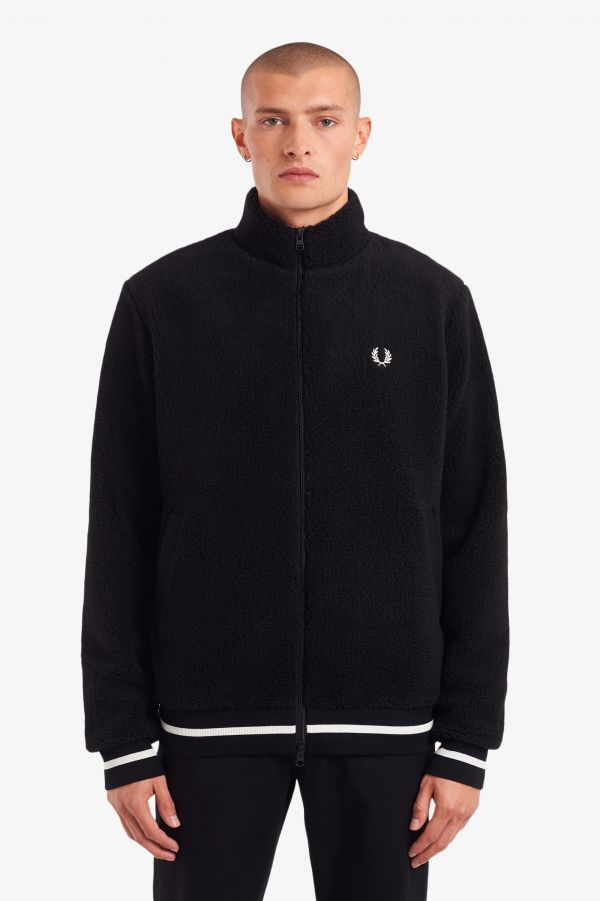 Borg Fleece Zip-Through Jacket