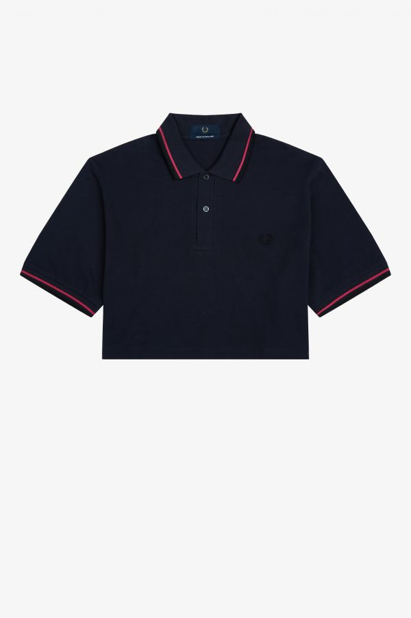 Cropped M12 Fred Perry Shirt