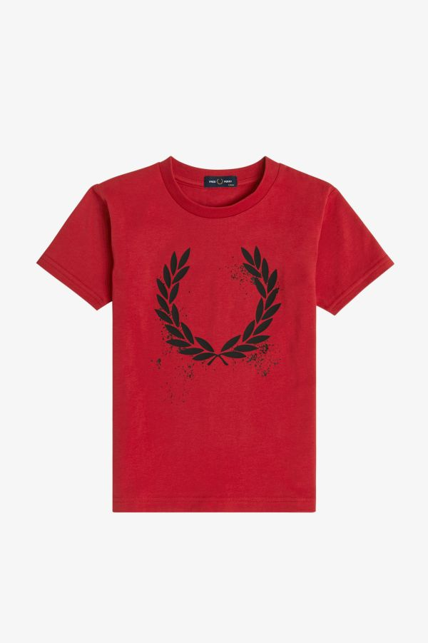 T-Shirt Con Grafica Laurel Wreath