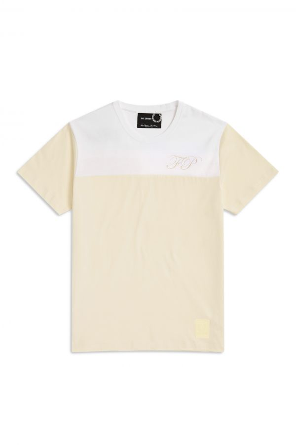 Raf Simons T-Shirt Bordada