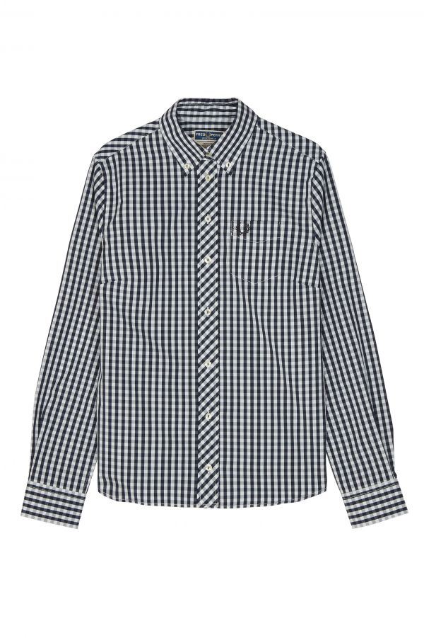 Button-Down-Hemd mit Vichy-Karos aus der Reissues-Kollektion