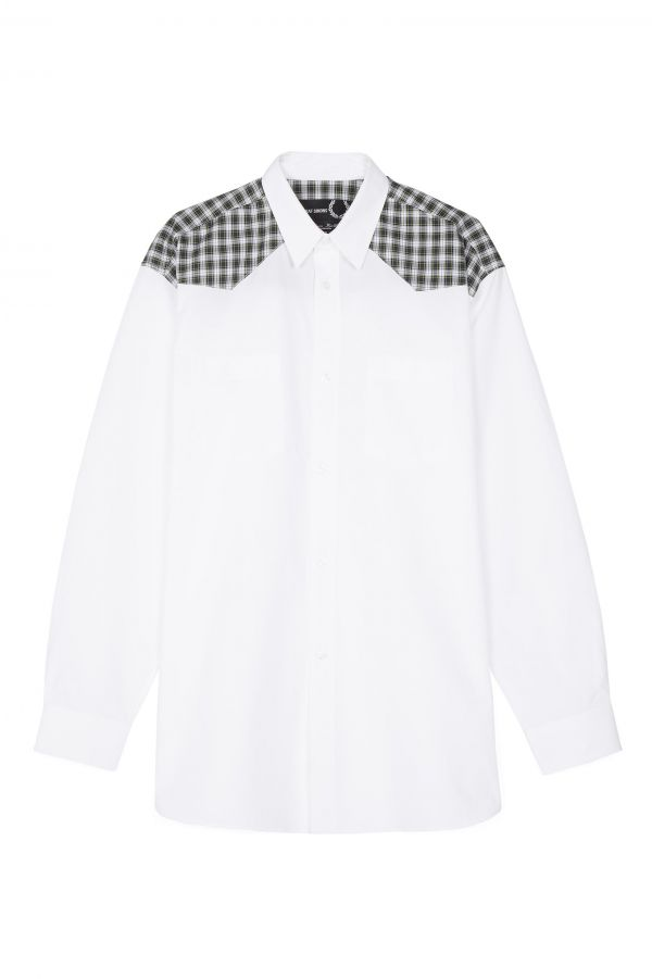 Raf Simons Check Yoke Shirt