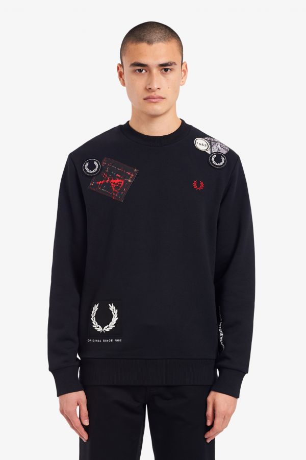 Graphic Applique Sweatshirt