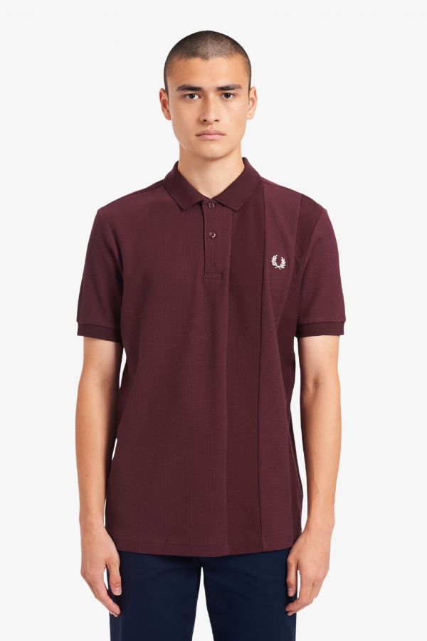 Tonal Stripe Polo Shirt